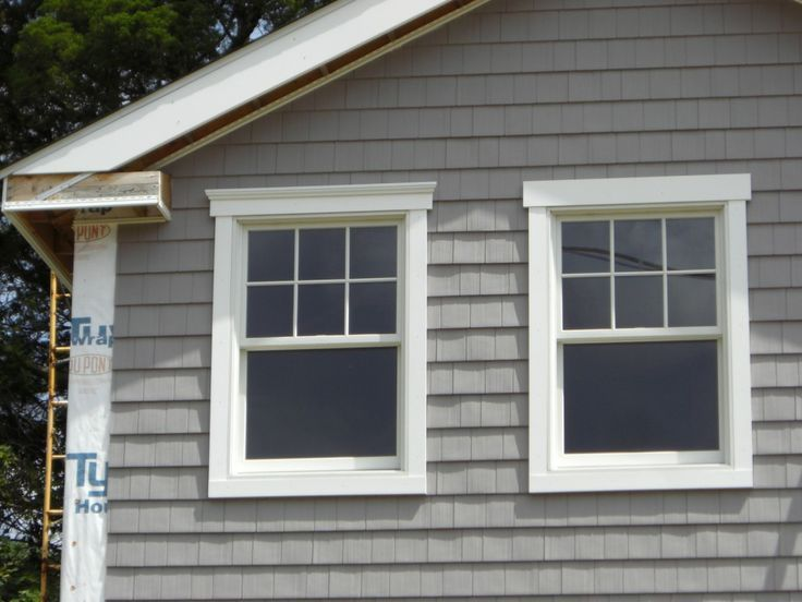 Exterior window trim cottage trim pinterest exterior - Exterior window trim ideas pictures ...