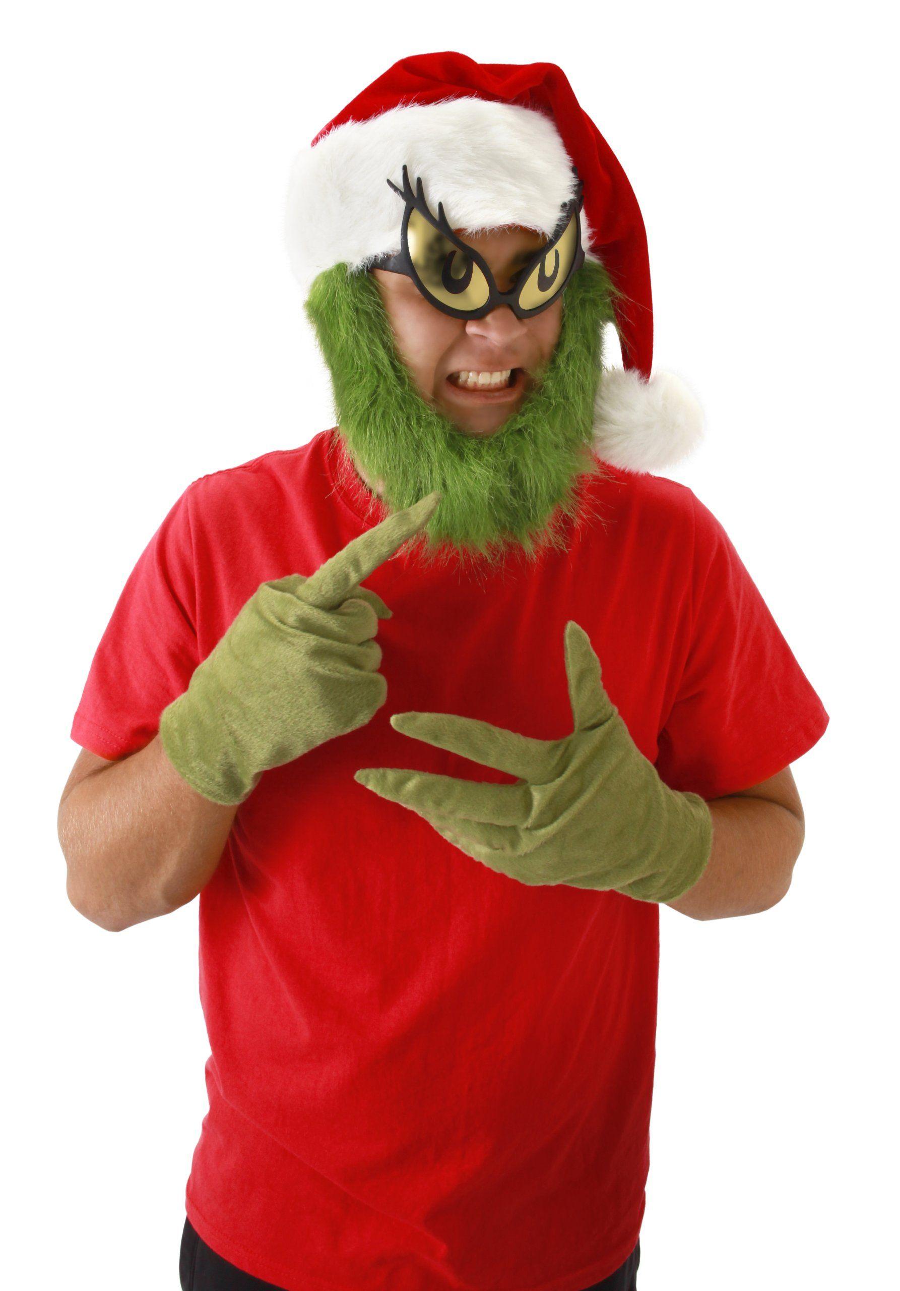 192e1a96436 Amazon.com  elope Grinch Gloves