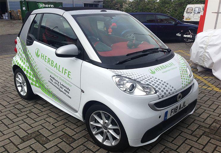 Smart Car Advertising Szukaj W Google Car Wraping