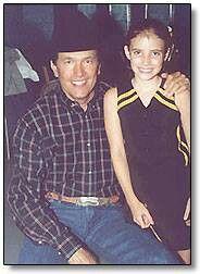 specjalne do butów Najlepiej tani George Strait and Emma Roberts in Grand Champion movie (2002 ...