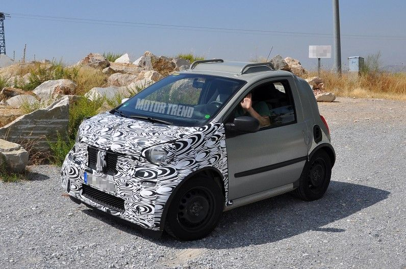 Spied Smart Fortwo Prototype Spotted Again Smart Fortwo Auto