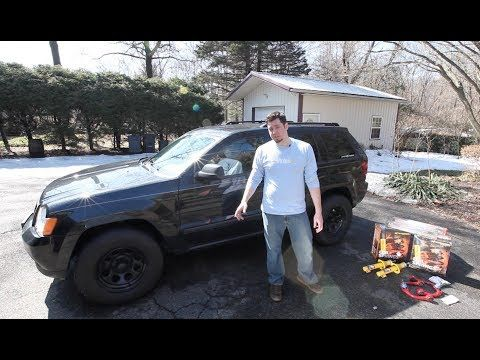HOW TO Jeep Grand Cherokee OME 2 HD Lift Kit Install 20052010 - Installing A Jeep Lift