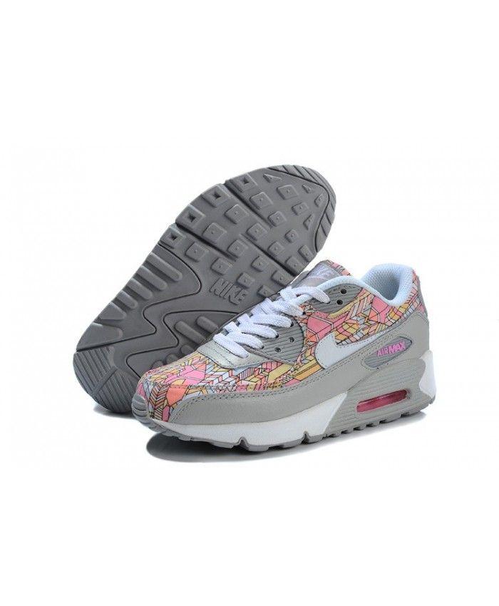 brand new 27b75 20926 Bon marché Nouveau Nike Air Max 90 Femme Pas Cher Ventes en ligne FR207