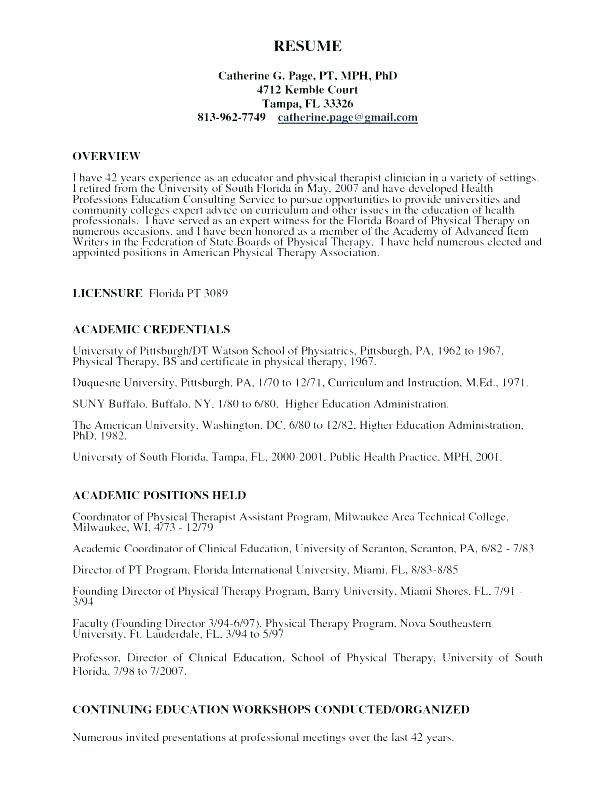 resume cover letter ideas physical therapist cover letter massage