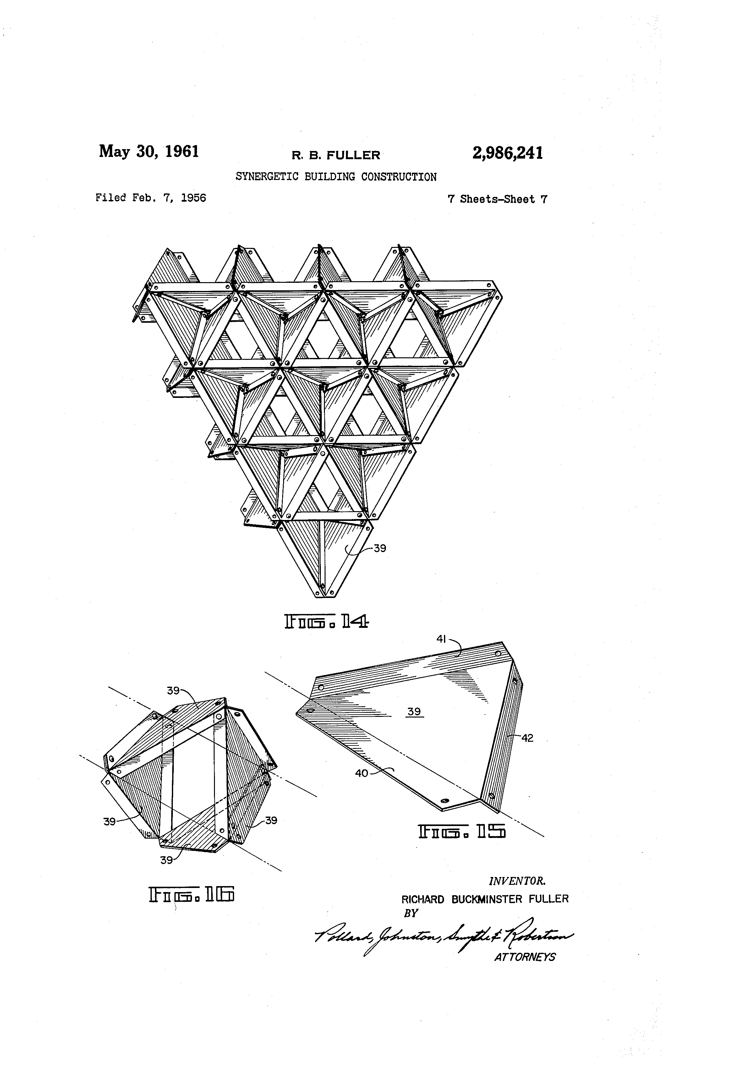 patent us2986241 synergetic building construction google patents
