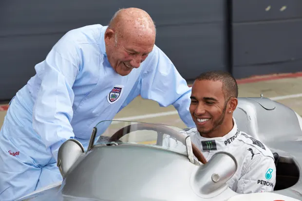Sir Stirling Moss F1 Great Dies Aged 90 Sport The Guardian Fast Sports Cars Motorsport Formula One