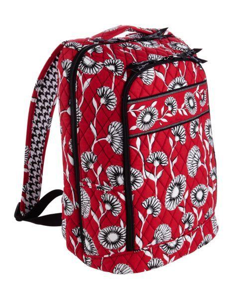 556d929ca0ba vera bradley laptop backpack - looks kind of like an Alabama backpack