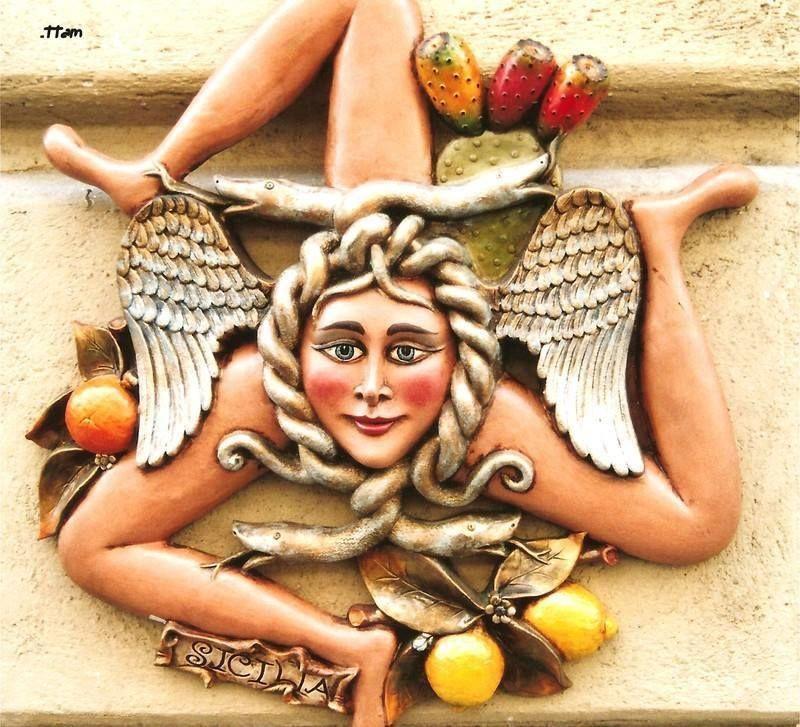 Trinacria Symbol Of Sicily Sicily Pinterest Sicily Italy And