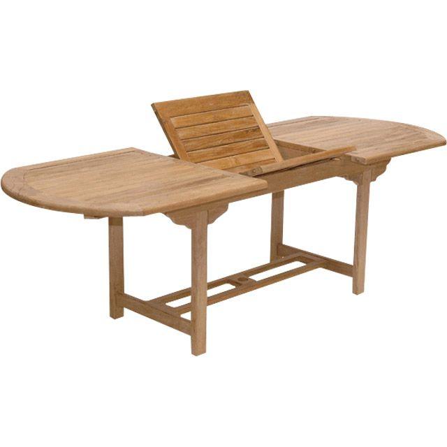 Stunning Table De Jardin Ovale Classic En Teck Contemporary ...