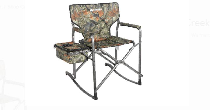 Awesome Ozark Trail Hazel Creek Director Rocking Chair Only 29 99 Inzonedesignstudio Interior Chair Design Inzonedesignstudiocom