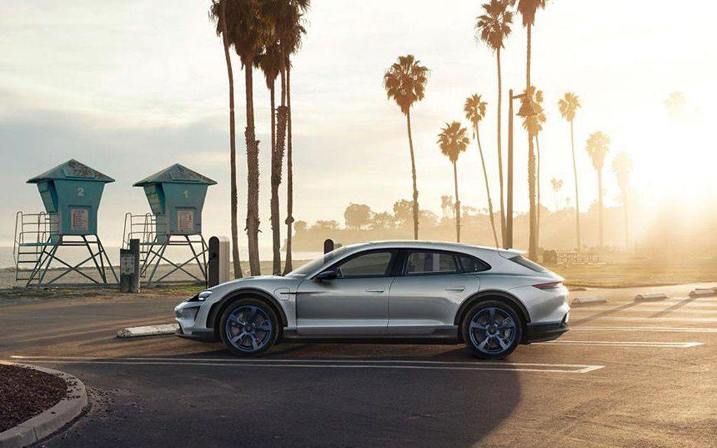 porsche s new mission e cross turismo concept electric cars