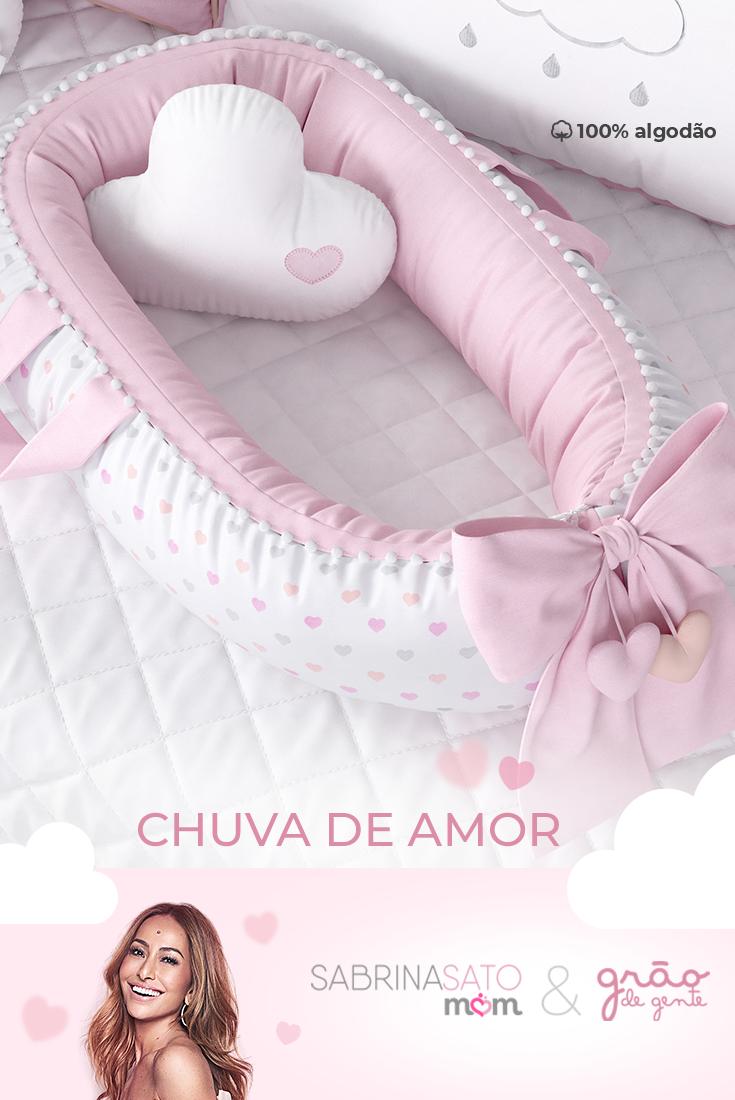 """4fb06091fab1f O Ninho Protetor Chuva de Amor da linha """"Sabrina Sato Mom"""" vai proporcionar  um"""