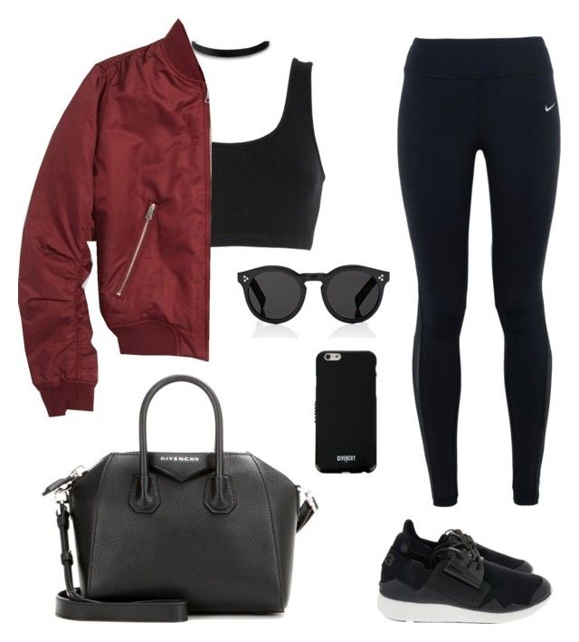 """""""Untitled #123"""" by gr20gk on Polyvore featuring adidas Originals, NIKE, Topshop, Y-3, Illesteva and Givenchy"""