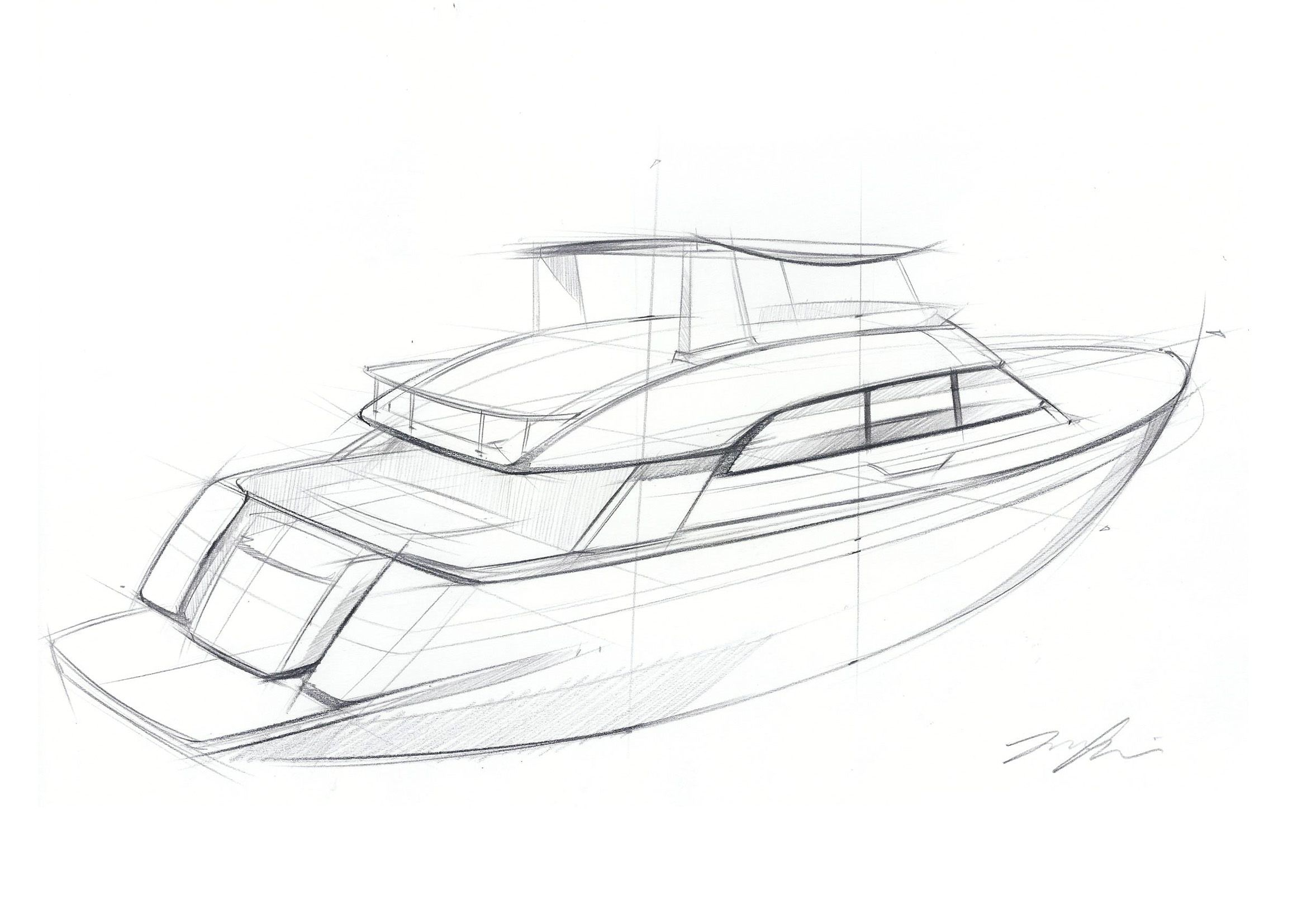 Line Drawing Yacht : Yacht sketch idea my work pinterest