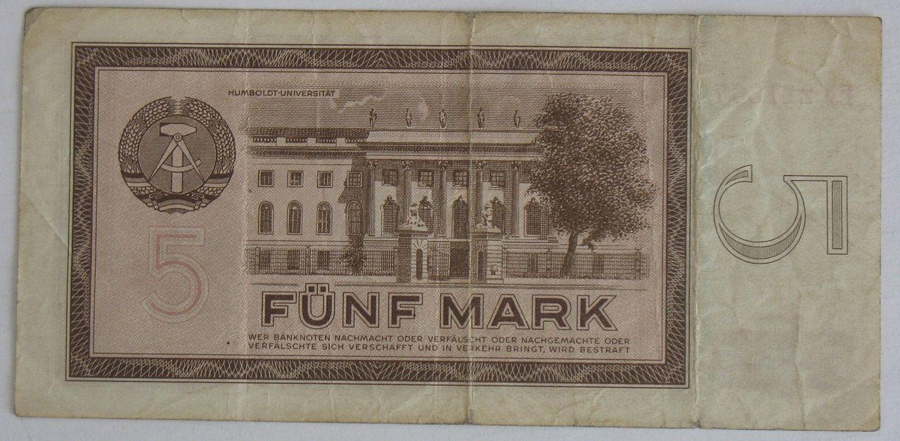 5 m r 1964.JPG (mit Bildern) Ostdeutschland, Deutsche mark
