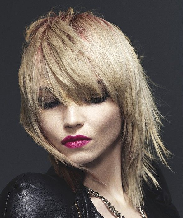 Rocker Hair Image By Mary Boss On Hair Rock Hairstyles Medium