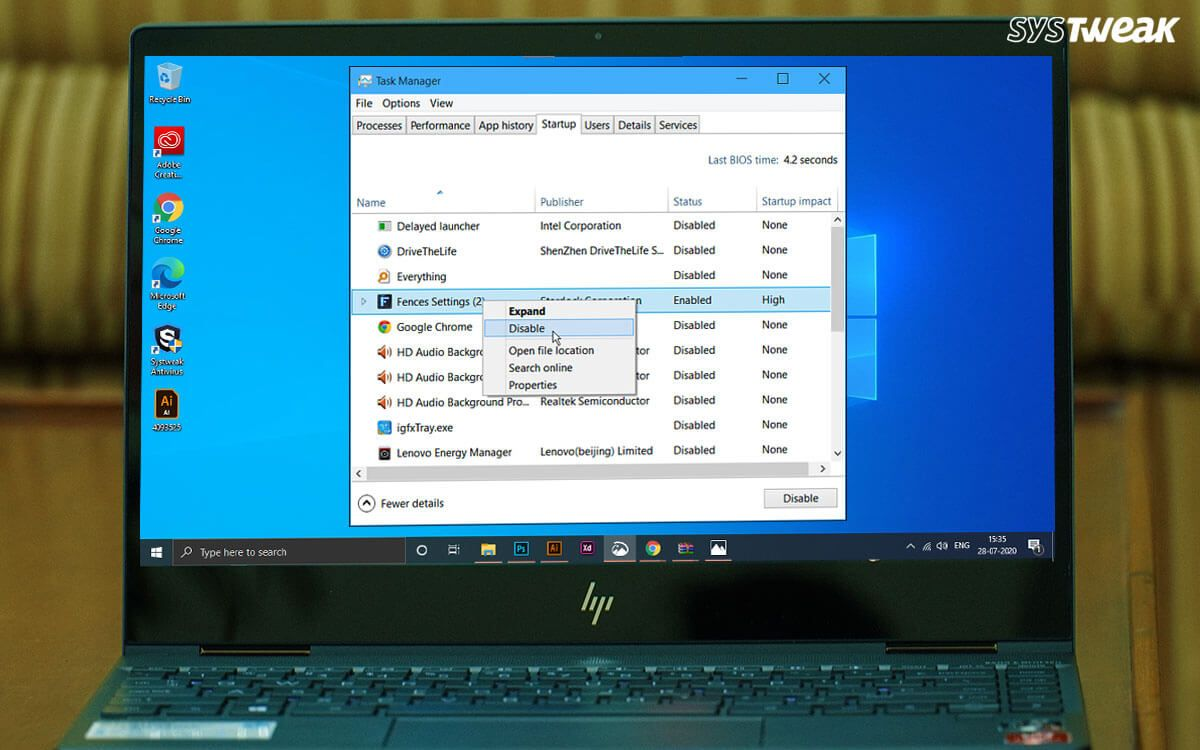 Windows 10 Startup Programs That Are Safe To Disable In 2020 Start Up Windows 10 Windows Registry