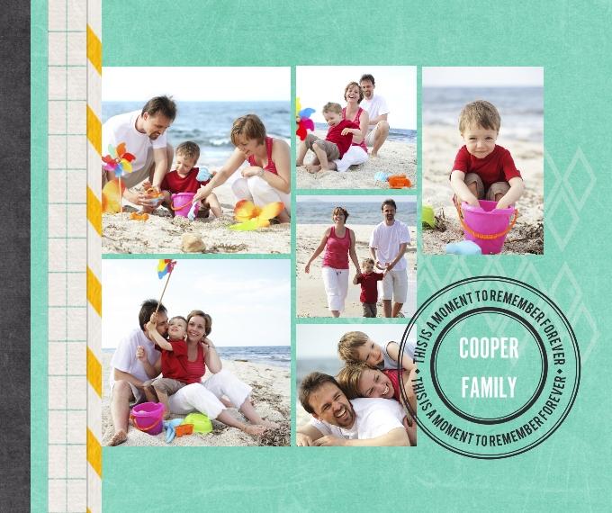 Plush Fleece Photo Blanket Vacation Scrapbook Creative Memories