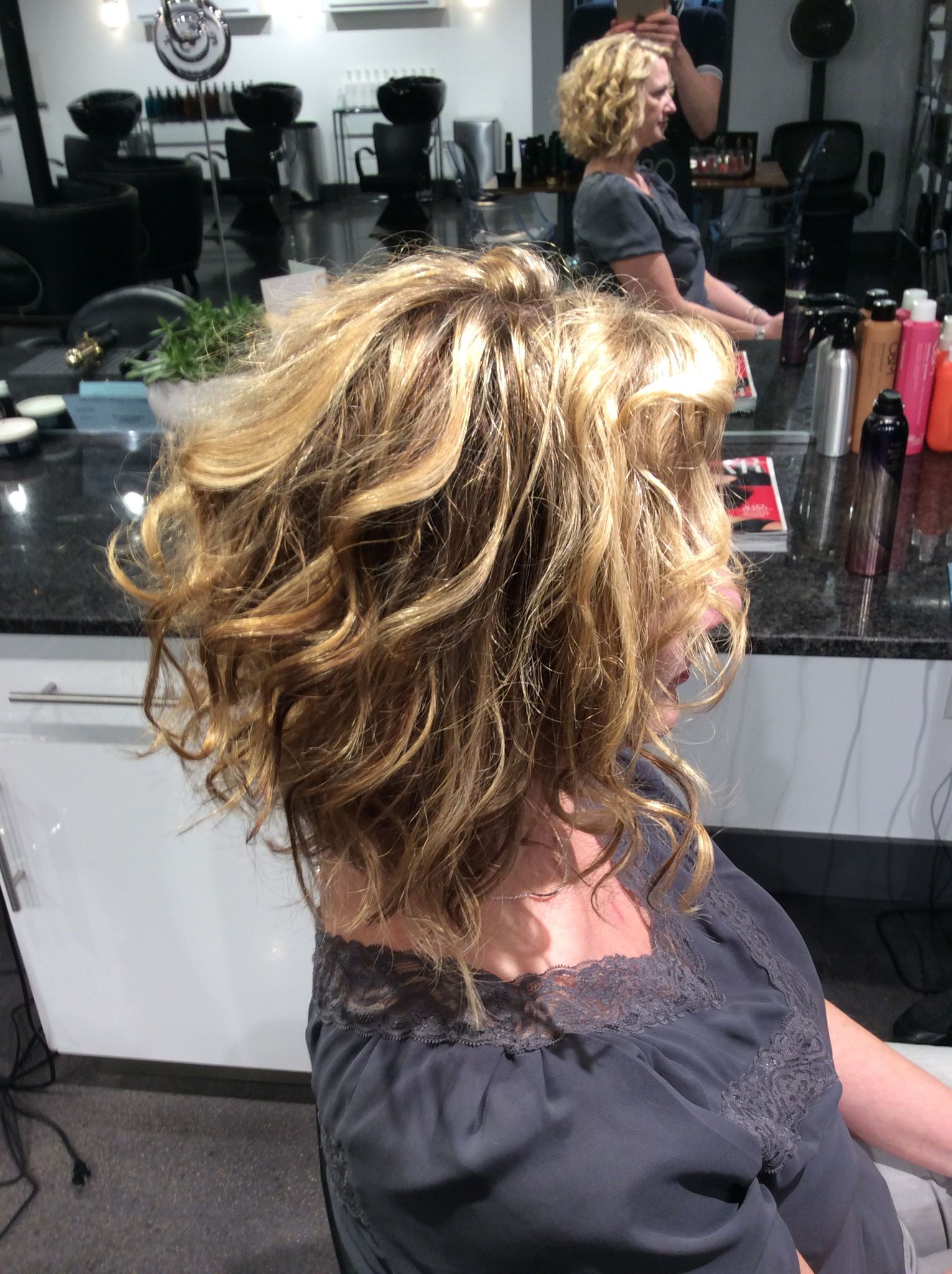 Blonde Highlights On Natural Curly Hair Blonde Highlights On