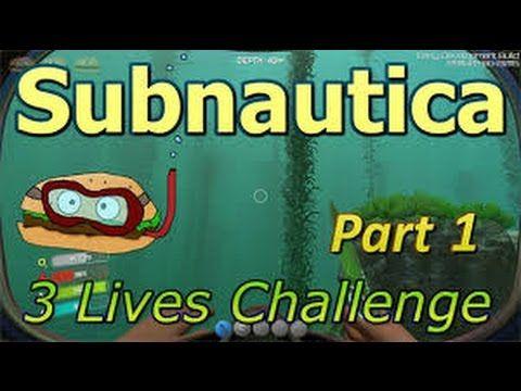 Subnautica Part 1 UNDERWATER SURVIVAL!! Subnautica