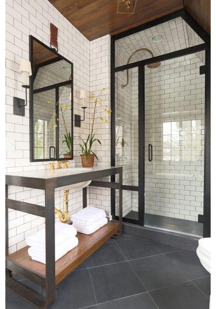 Inspiratie voor metrotegels in de badkamer | Bathroom inspiration ...
