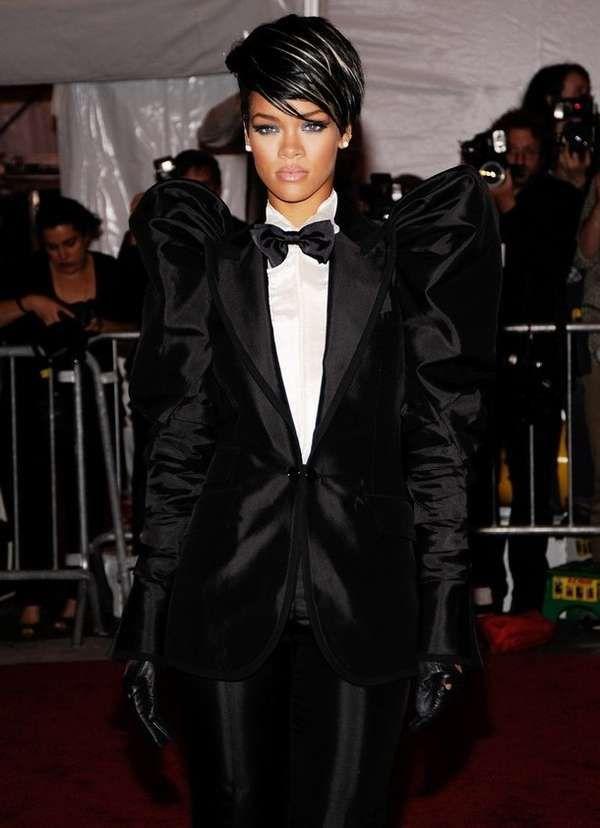 BOLD Female Tuxedo -- a must!!
