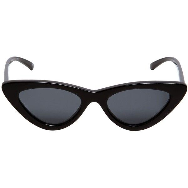 4196cedf43b Le Specs Women The Last Lolita Cat-eye Sunglasses ( 165) ❤ liked on  Polyvore featuring accessories