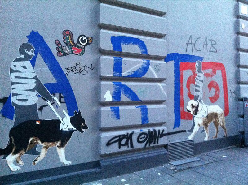 Street Art Hamburger Sternschanze Via Http Animaliciousss