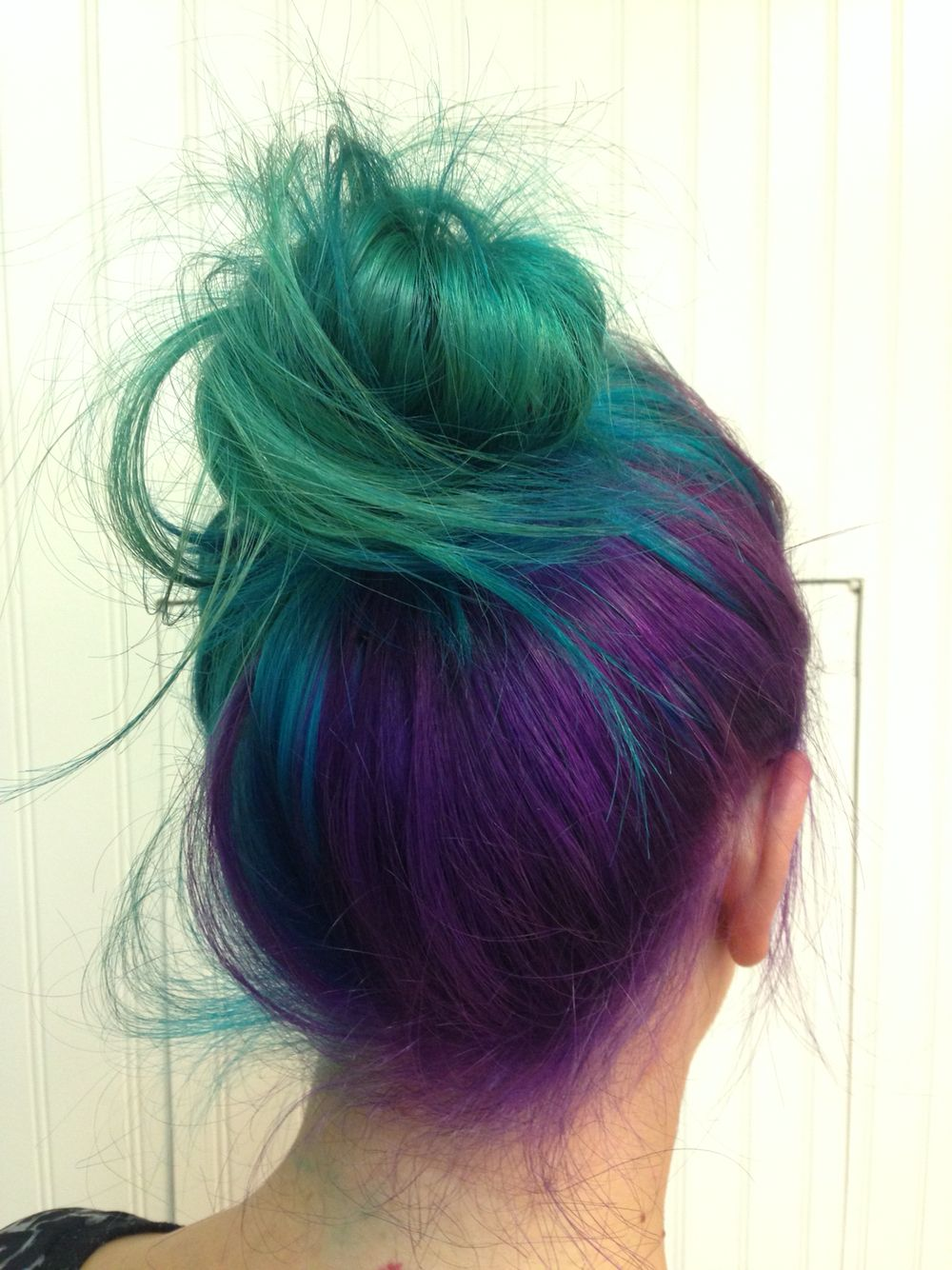 Purpleblue sea foam hair cabelo pinterest sea foam