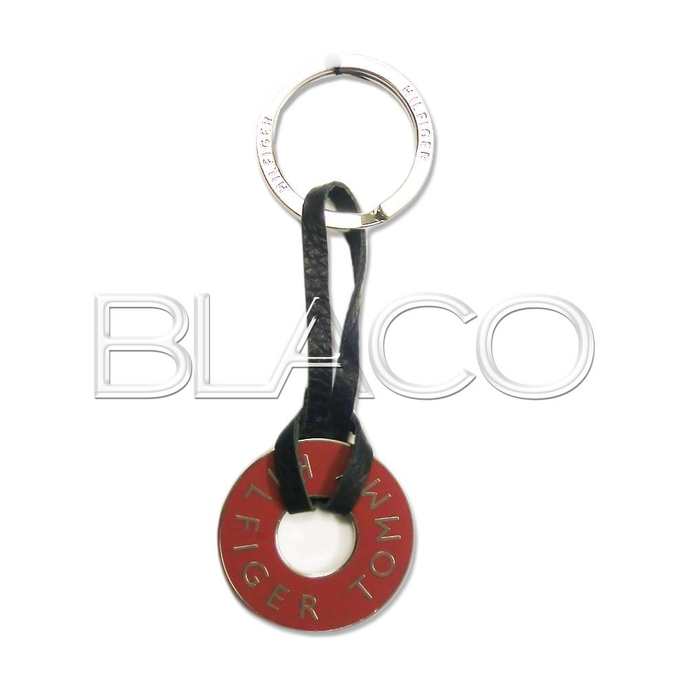 Tommy Hilfiger TH Ring Keyfob Tango Red