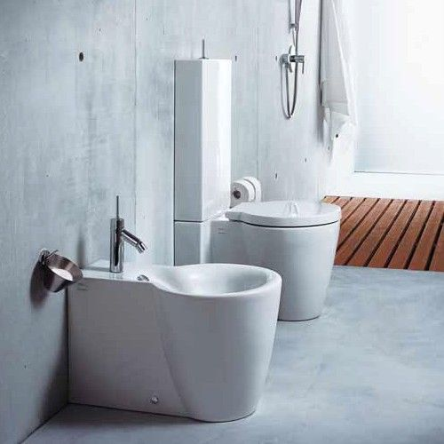 Starck 1 Close-Coupled Toilet | Close coupled toilets, Duravit and ...