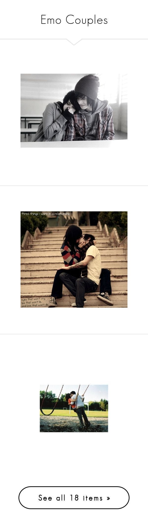 Emo Couples by candice-williams ❤ liked on Polyvore featuring couples, love, pictures, people, backgrounds, cute couples, phrase, quotes, saying and text #emocouples Emo Couples by candice-williams ❤ liked on Polyvore featuring couples, love, pictures, people, backgrounds, cute couples, phrase, quotes, saying and text #emocouples Emo Couples by candice-williams ❤ liked on Polyvore featuring couples, love, pictures, people, backgrounds, cute couples, phrase, quotes, saying and text #emoco #emocouples