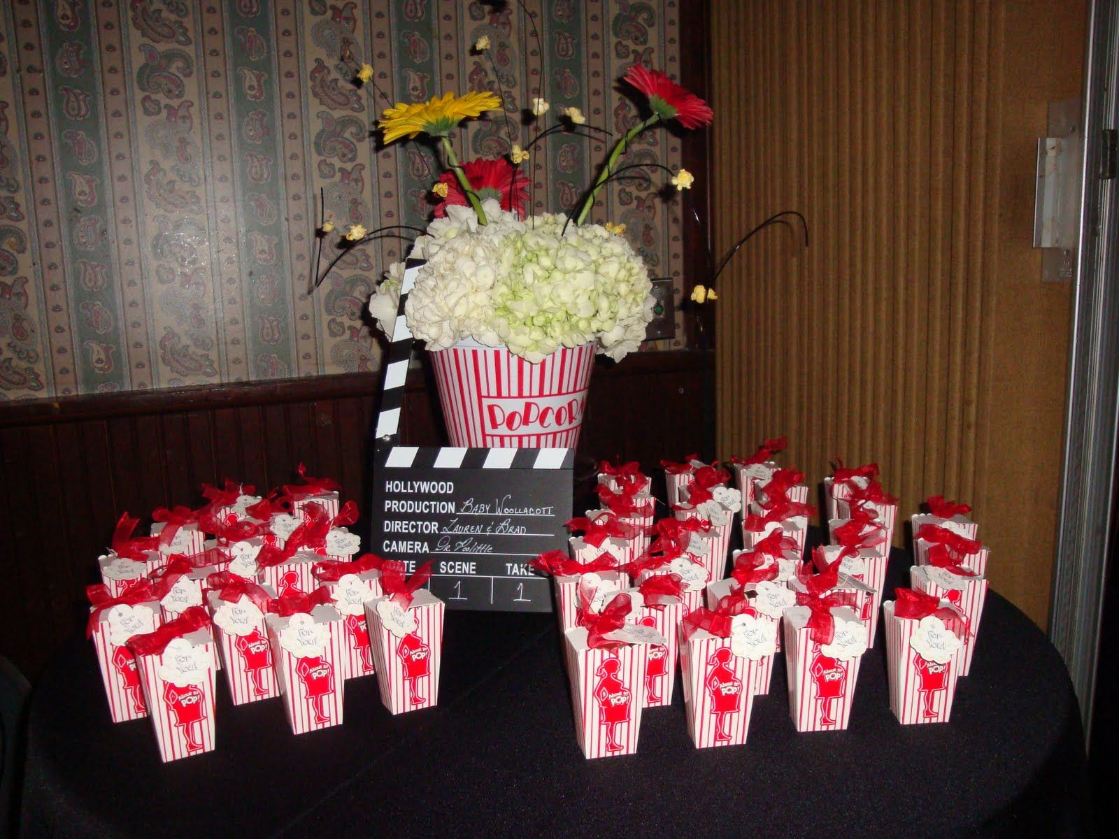 Movie Themed Baby Shower | Event Confetti: Party Time: Movie Themed Baby  Shower