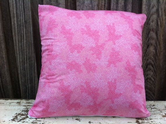 Pink Perfection Cushion with Shades of Pink by SourPussDesigns, $45.00