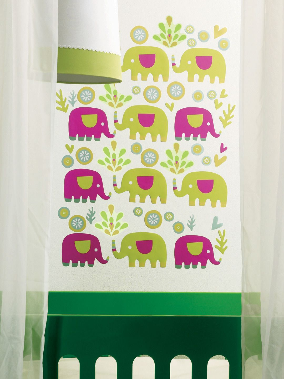 KIDS ROOM: WALL DECOR ~~ Elephants Wall Decals by Wallies at Gilt ...