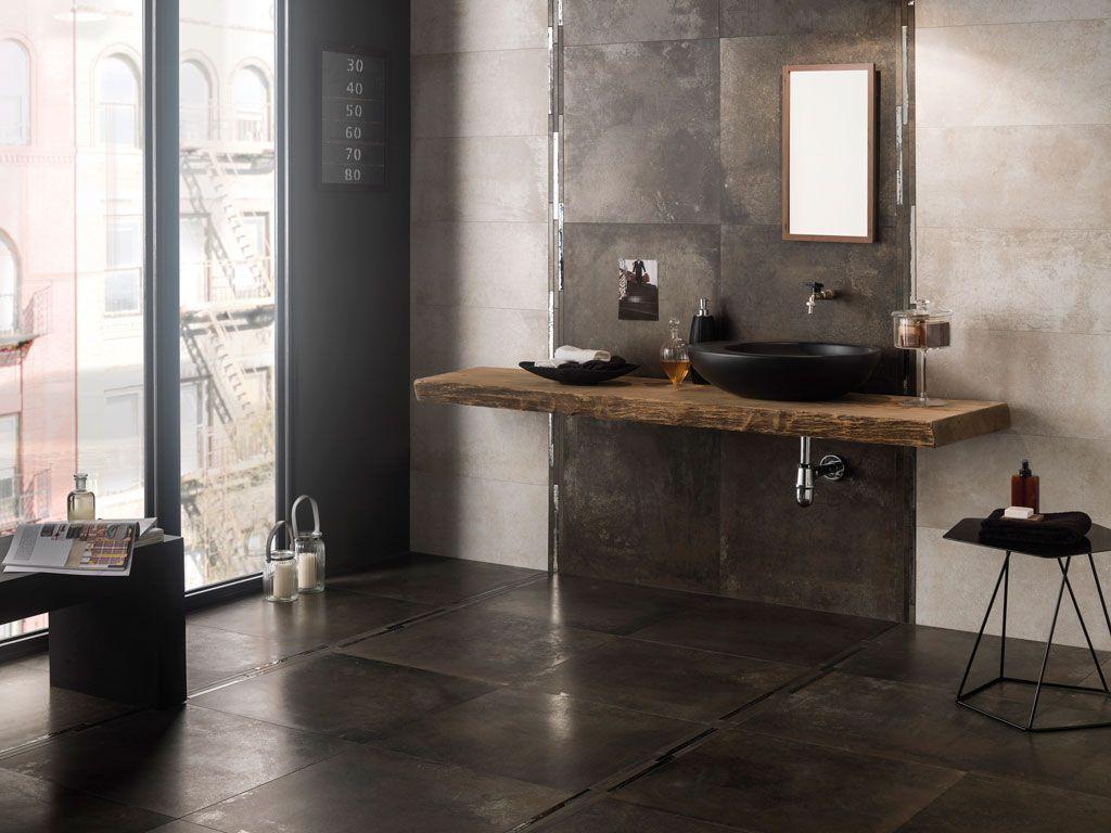 Ristrutturare il bagno dalle piastrelle allo for Lamiera corten prezzo