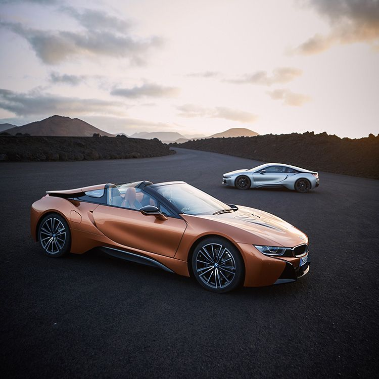 BMW Unveils New I8 Roadster And Coupe At LA Auto Show