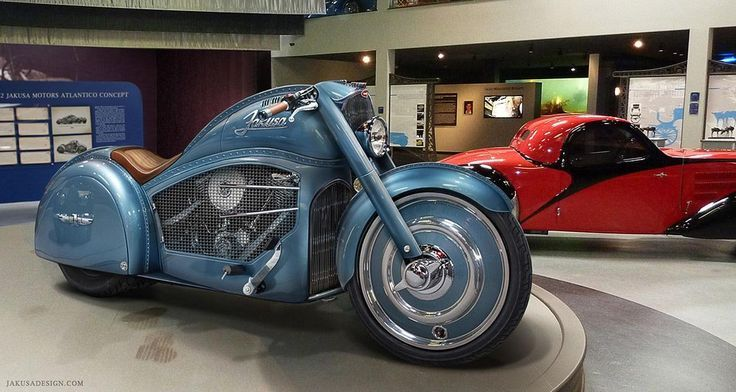 The Jakusa Atlantico Motorcycle Concept