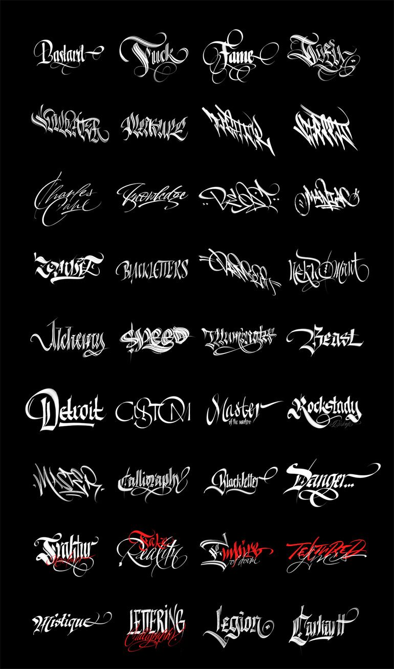 351 Free Procreate Brushes Fresh New Tattoo Lettering Fonts
