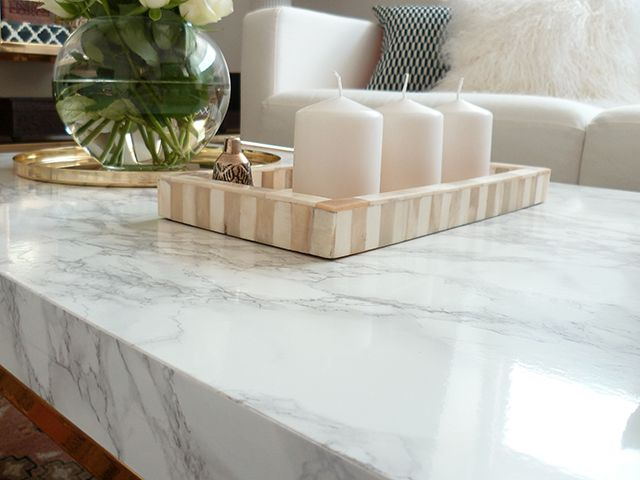 IKEA HACK Marble Tableshes craftyPinterestIkea hacks