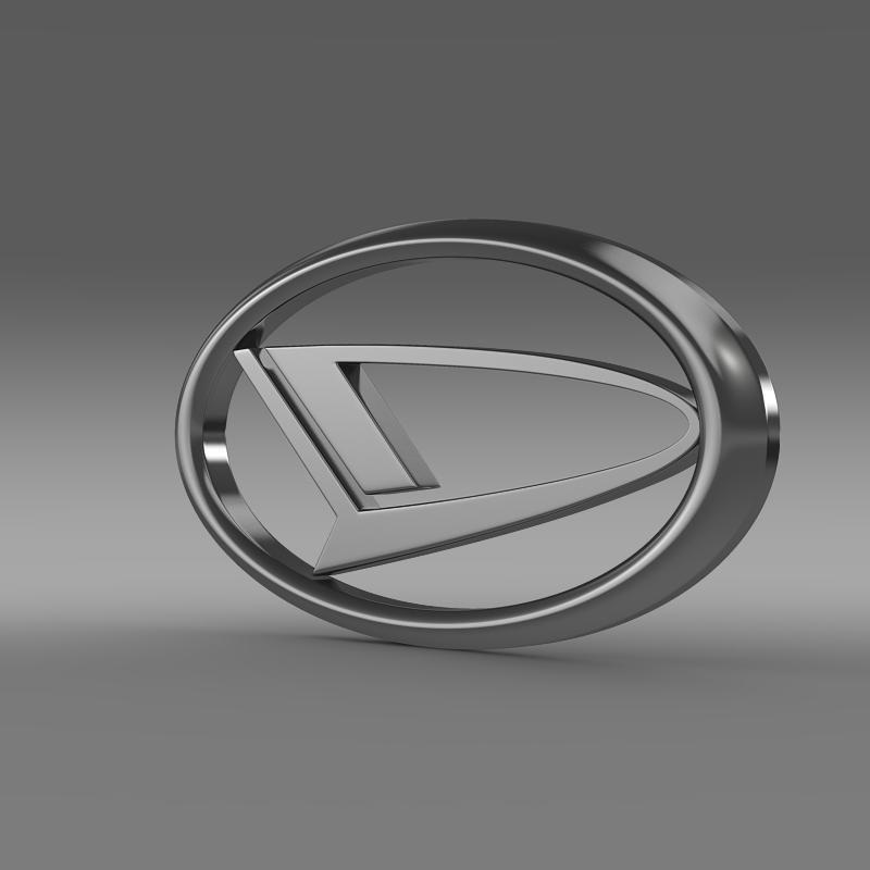 Daihatsu Logo 3d Model Dengan Gambar Sketsa