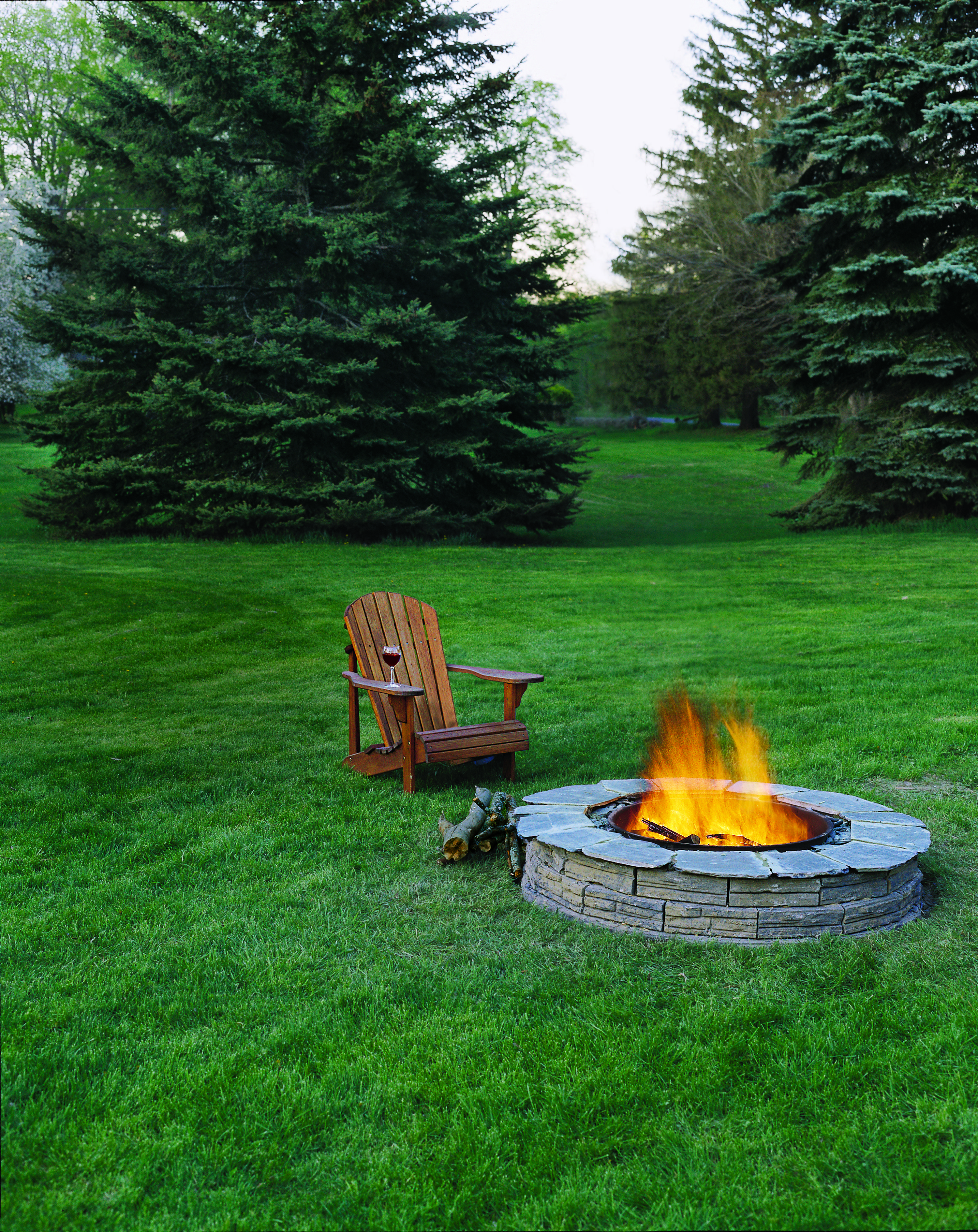 How to Build a Fire Pit Pinterest