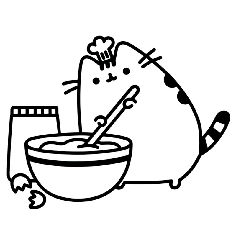Cb Pusheen Cute Coloring Pages Pusheen Coloring Pages