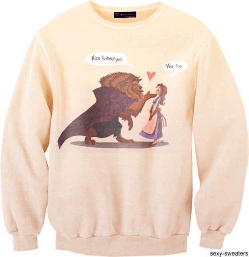 Beauty And The Beast Sweatshirt At Julia Foster Beauty And The Beast