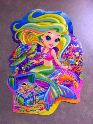 Mermaid By Lisa Frank