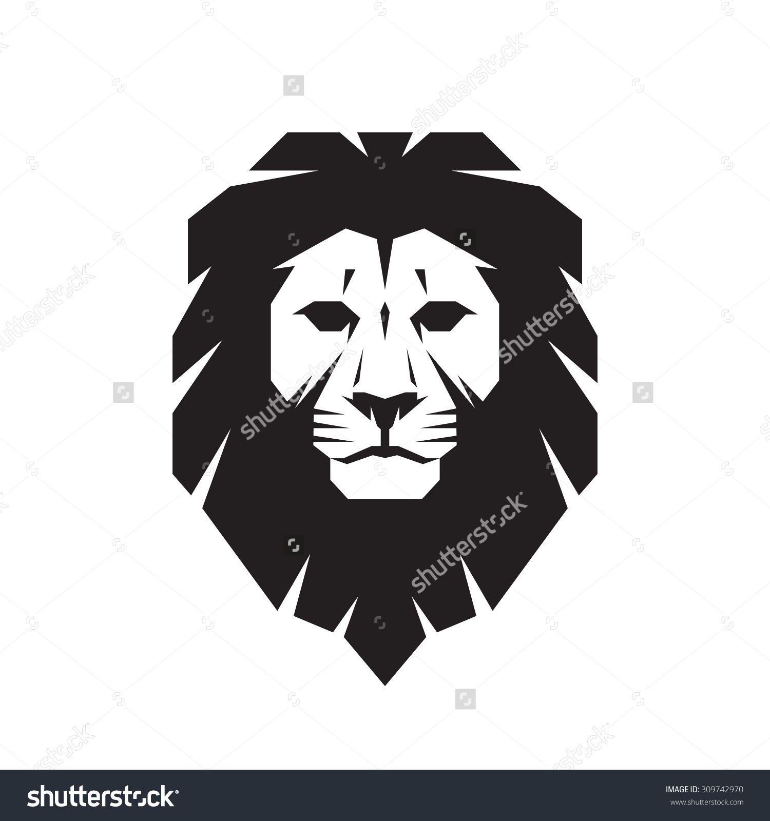 6c88bfa1a59e0 Lion Head - Vector Sign Concept Illustration. Lion Head Logo. Wild Lion Head  Graphic Illustration. Design Element. - 309742970 : Shutterstock