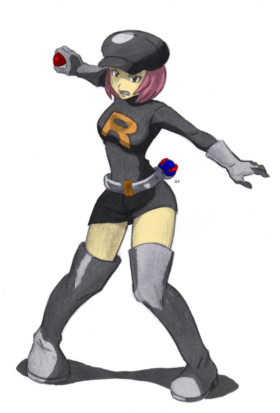 This Pokemon team rocket grunt hentai something is