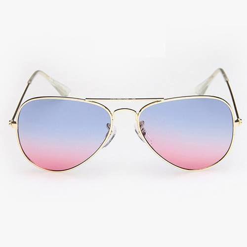 Blue-rose pilot summer fashion aviator shades woman unisex girl sunglasses #Designer