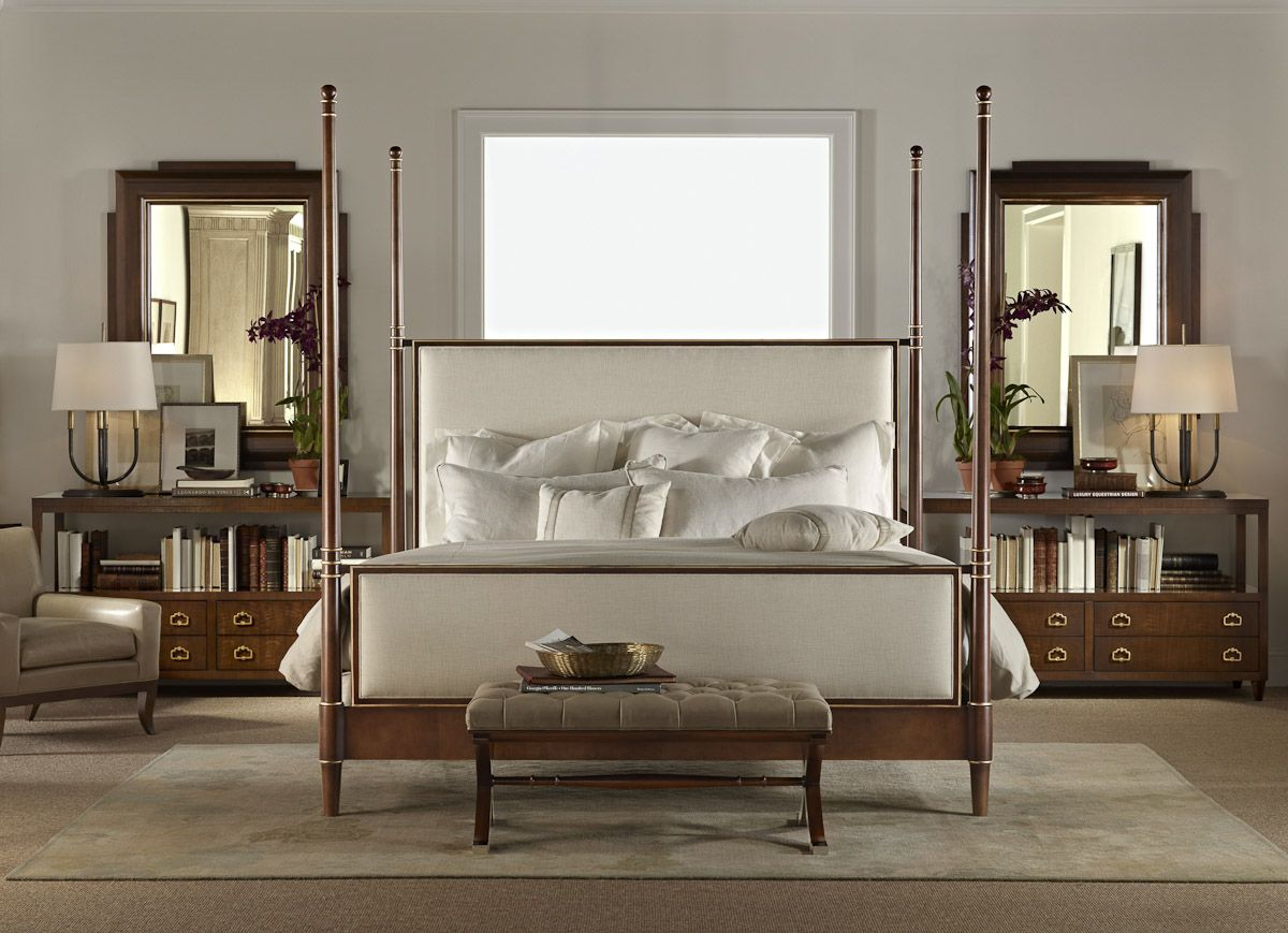 Hickory Chair Tompkins Bed bedroom Hickory chair