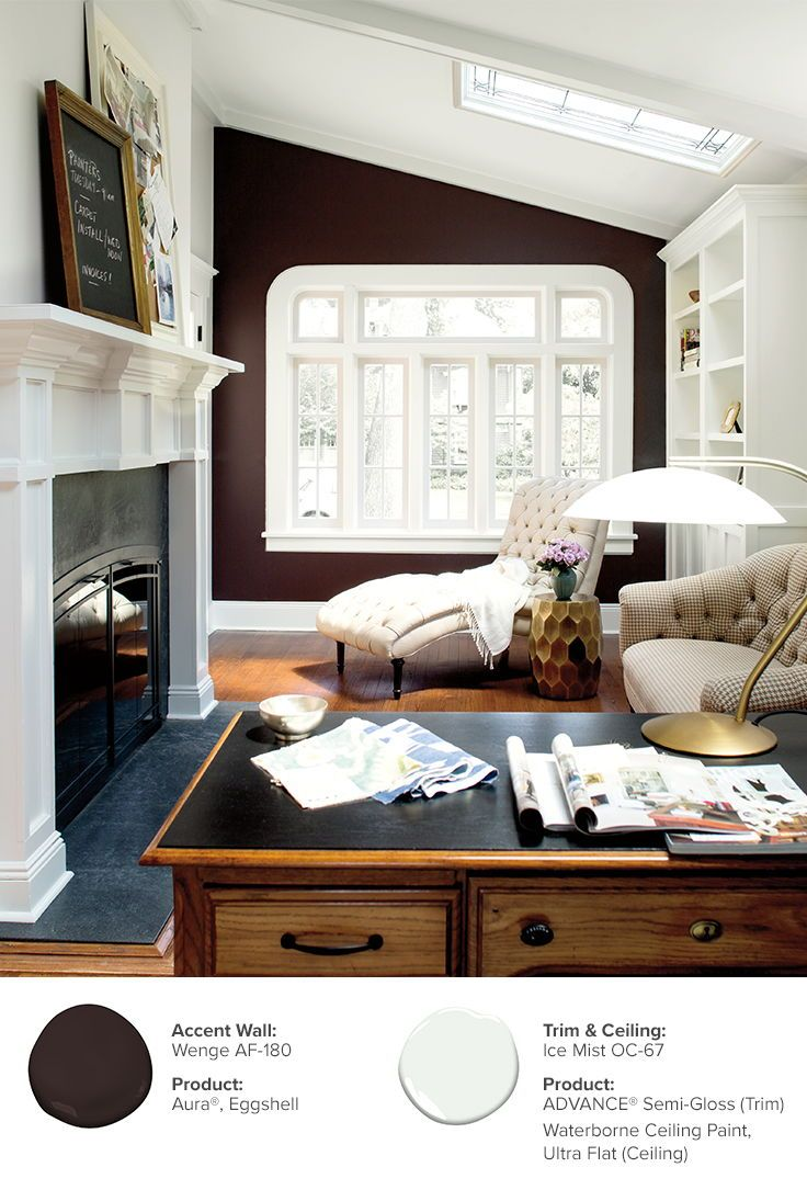 Paint Ideas and Inspiration | Bright rooms, Dark colors and Natural ...